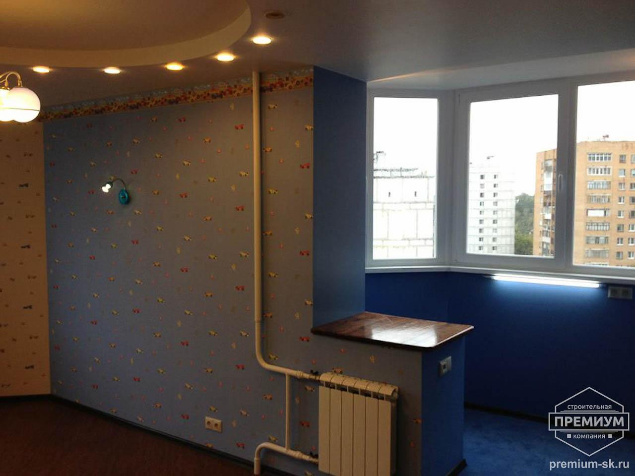 Объединение балкона с детской комнаты: 15 кв.
