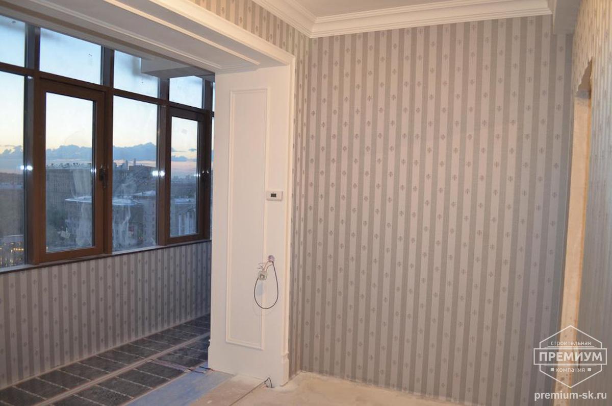 Гостиная Вид 3 Дизайн-проект квартиры Хрущевка