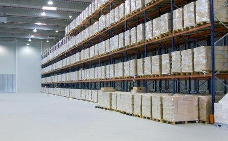 Услуги по отделке складских помещений