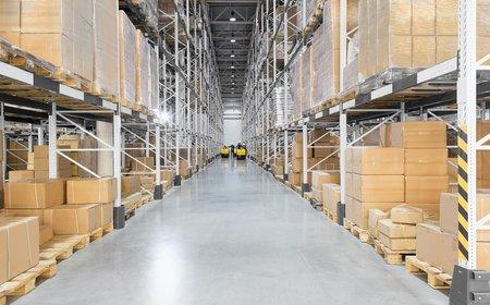 Отделка складских помещений