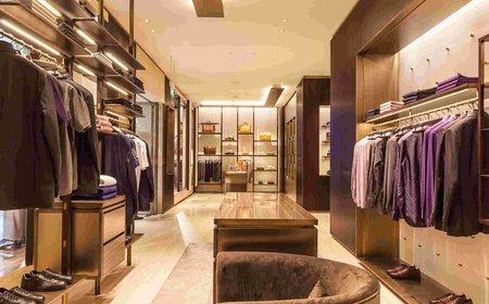 Ремонт магазина одежды