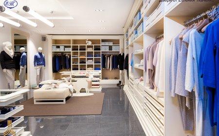 Отделка магазина одежды