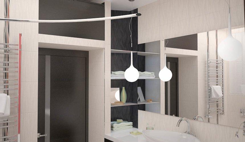 Ремонт и дизайн интерьера трехкомнатной квартиры по ул. Попова 33а 58
