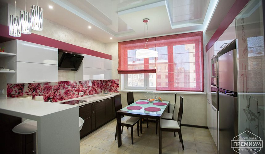 Ремонт и дизайн интерьера трехкомнатной квартиры по ул. Попова 33а 4