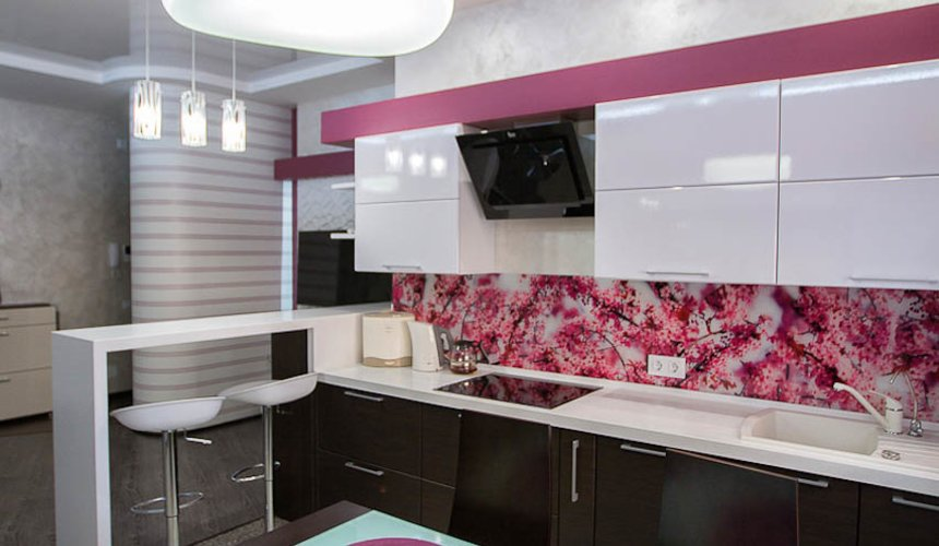 Ремонт и дизайн интерьера трехкомнатной квартиры по ул. Попова 33а 7