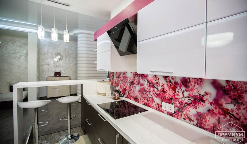 Ремонт и дизайн интерьера трехкомнатной квартиры по ул. Попова 33а 8