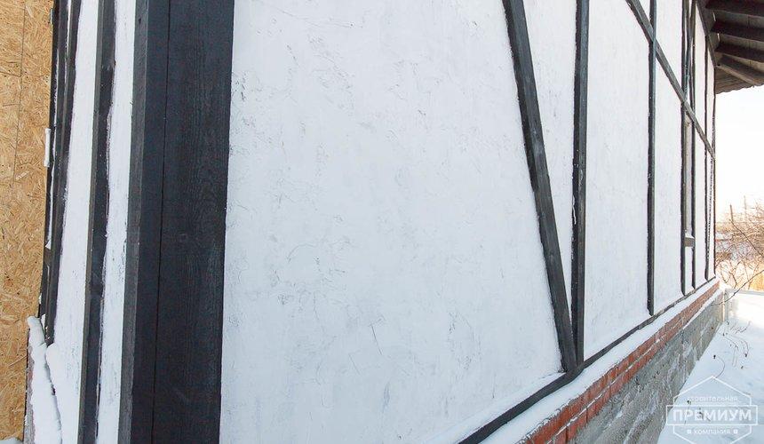 Строительство коттеджа из блоков п. Косулино 4