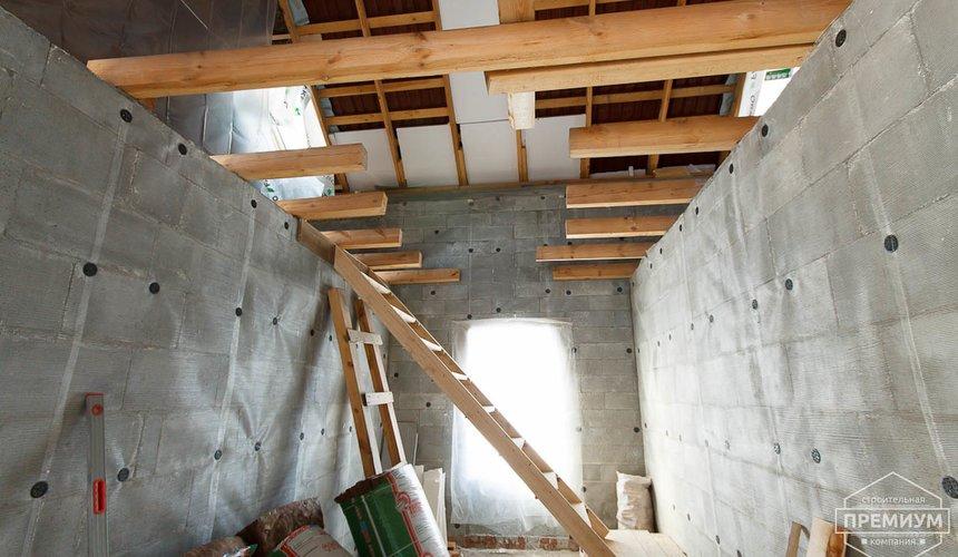 Строительство коттеджа из блоков п. Косулино 10