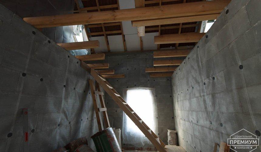 Строительство коттеджа из блоков п. Косулино 11