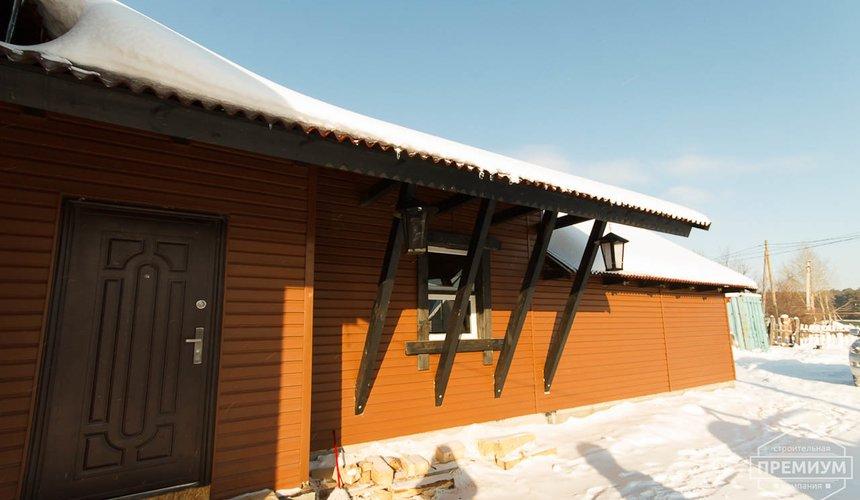 Строительство дома из бруса в п. Косулино 6