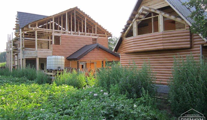 Проектирование и строительство дома из бруса в д. Рябиновка 1