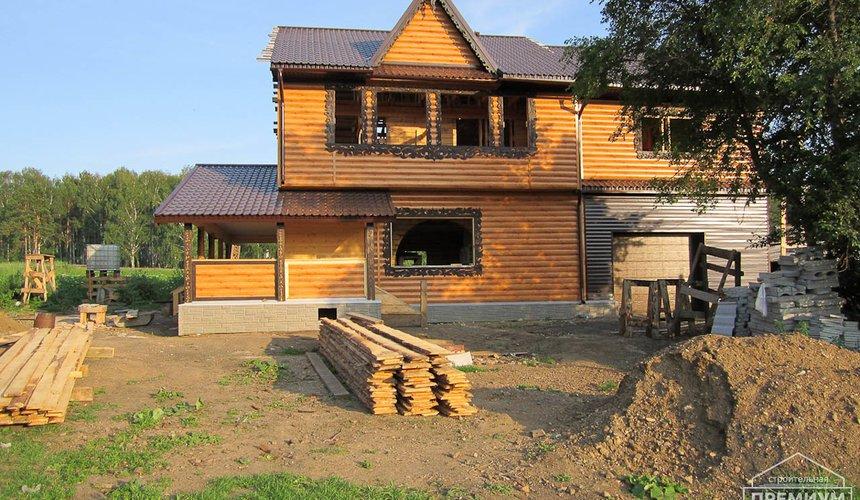 Проектирование и строительство дома из бруса в д. Рябиновка 3