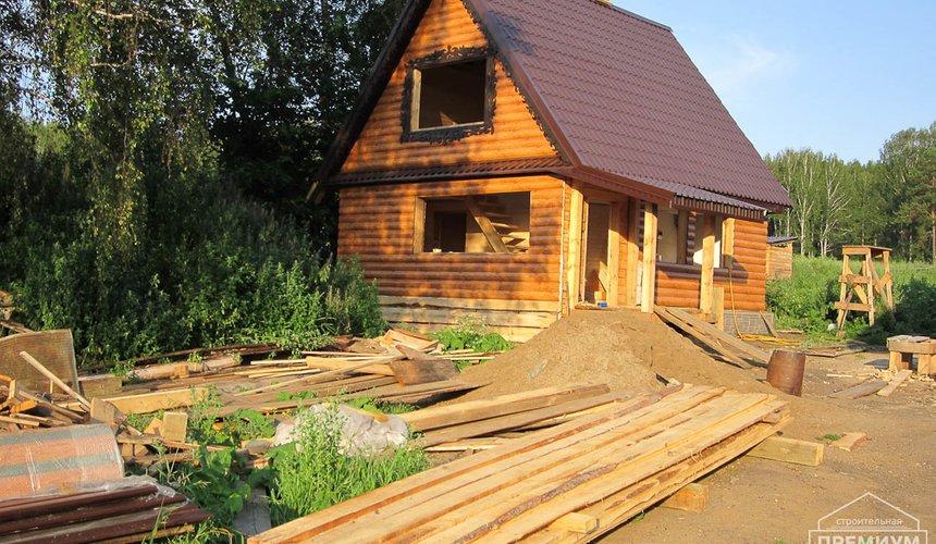 Проектирование и строительство дома из бруса в д. Рябиновка 4