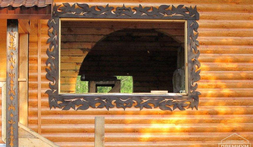 Проектирование и строительство дома из бруса в д. Рябиновка 5