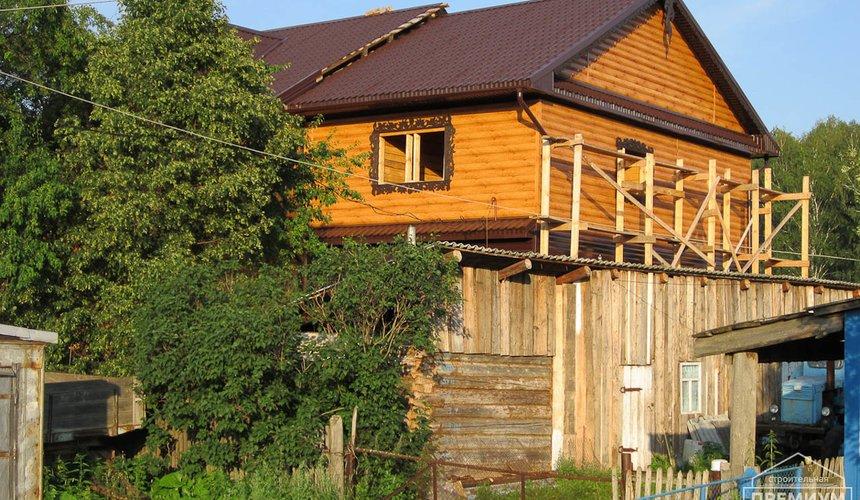 Проектирование и строительство дома из бруса в д. Рябиновка 6