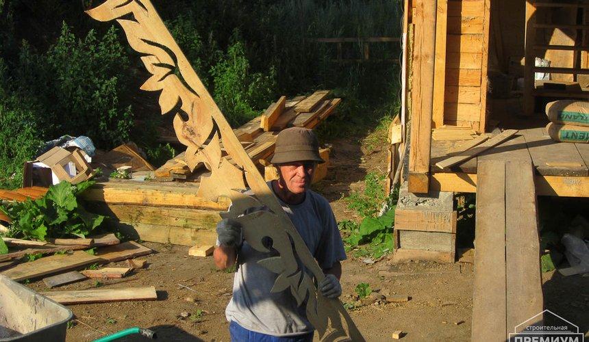 Проектирование и строительство дома из бруса в д. Рябиновка 10