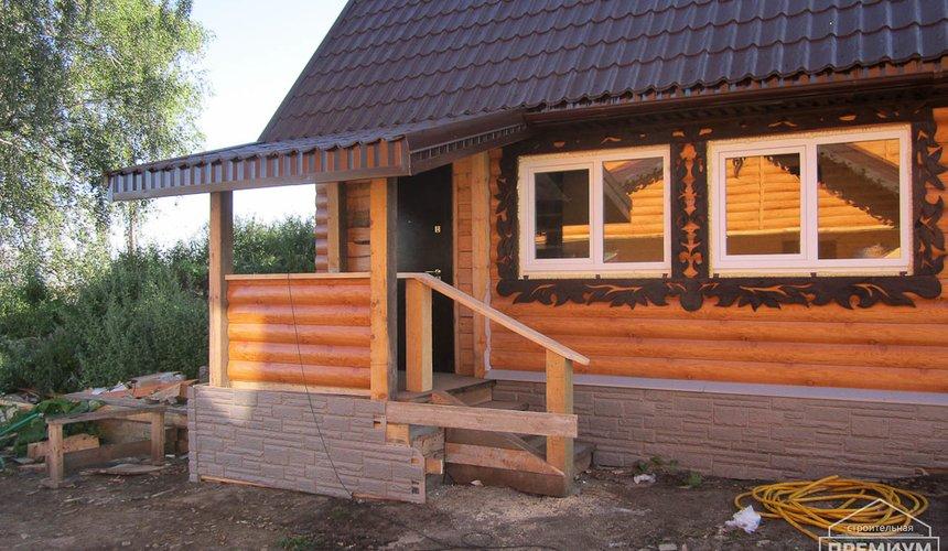 Проектирование и строительство дома из бруса в д. Рябиновка 14