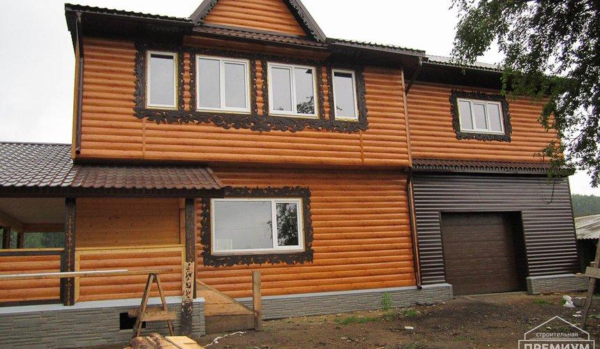 Проектирование и строительство дома из бруса в д. Рябиновка 16