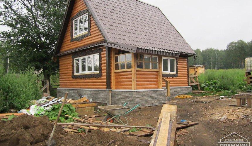 Проектирование и строительство дома из бруса в д. Рябиновка 17