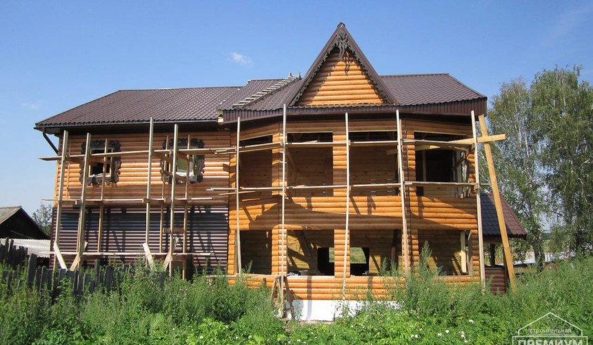 Проектирование и строительство дома из бруса в д. Рябиновка 18
