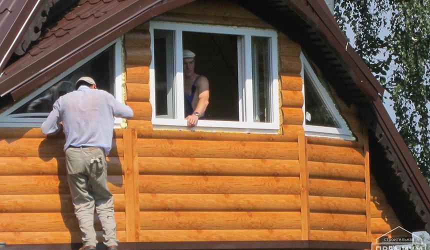 Проектирование и строительство дома из бруса в д. Рябиновка 19