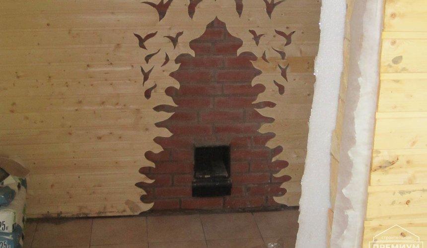 Проектирование и строительство дома из бруса в д. Рябиновка 20