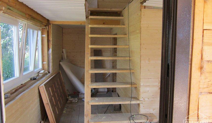 Проектирование и строительство дома из бруса в д. Рябиновка 22