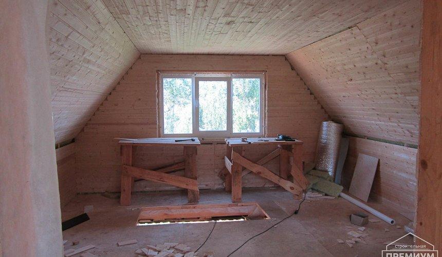 Проектирование и строительство дома из бруса в д. Рябиновка 24