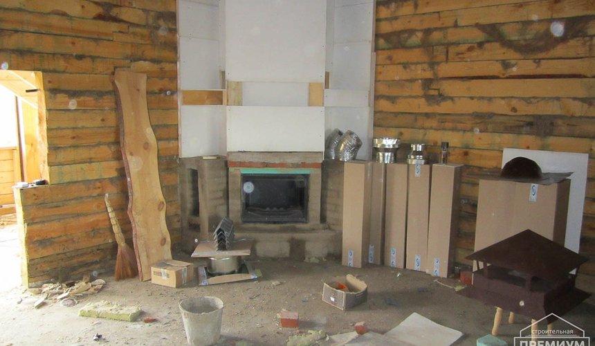 Проектирование и строительство дома из бруса в д. Рябиновка 25
