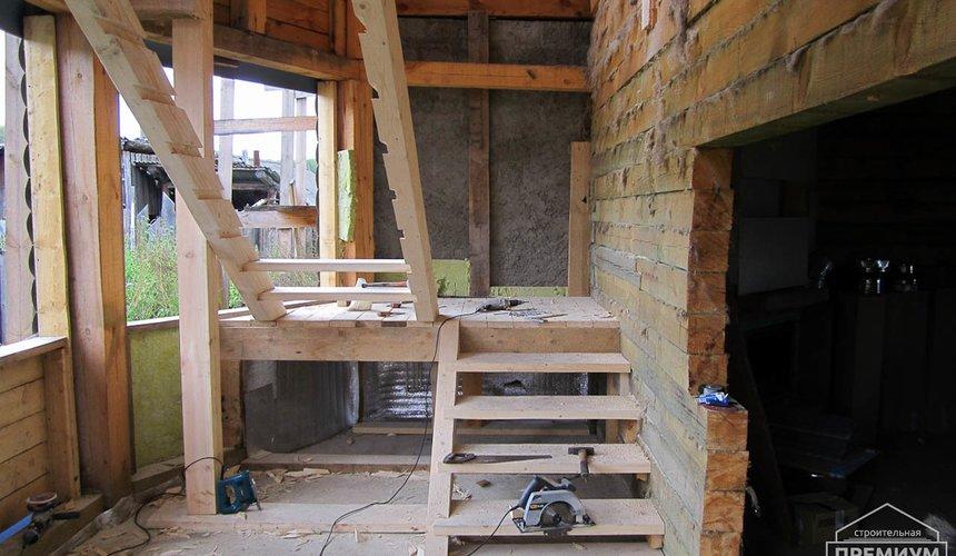 Проектирование и строительство дома из бруса в д. Рябиновка 27