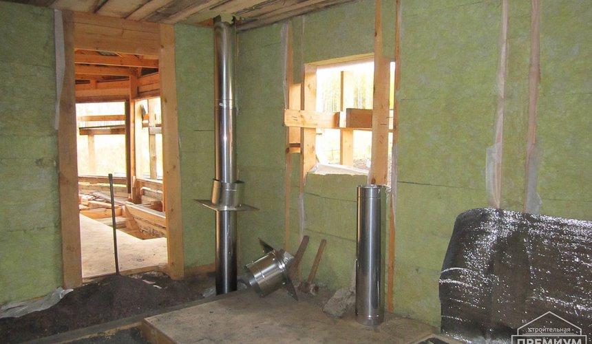 Проектирование и строительство дома из бруса в д. Рябиновка 32