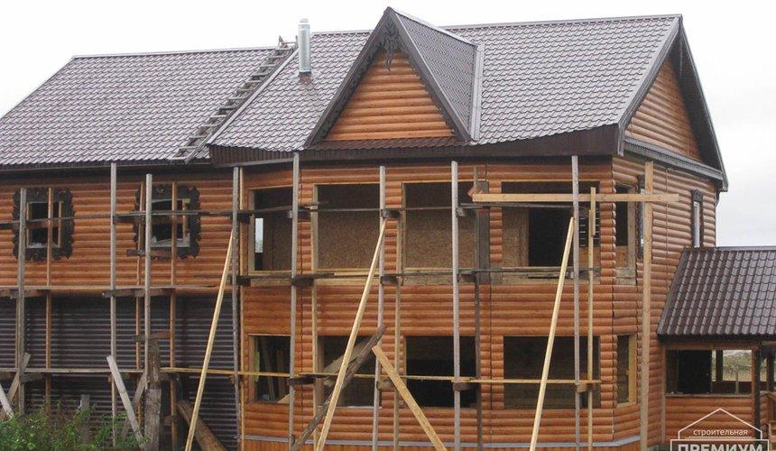 Проектирование и строительство дома из бруса в д. Рябиновка 37