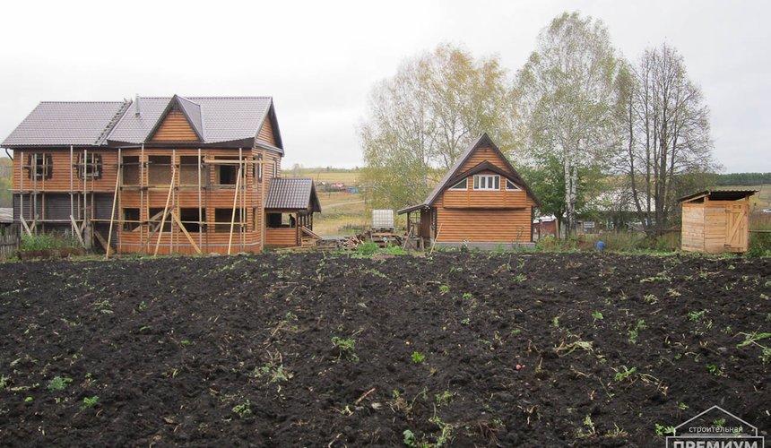 Проектирование и строительство дома из бруса в д. Рябиновка 38