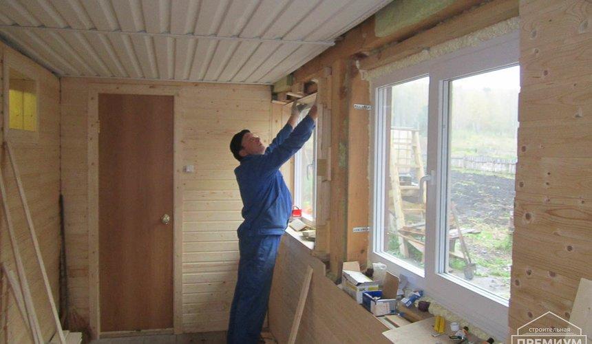 Проектирование и строительство дома из бруса в д. Рябиновка 39