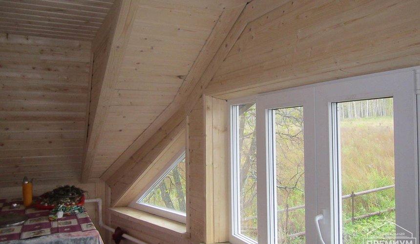 Проектирование и строительство дома из бруса в д. Рябиновка 40