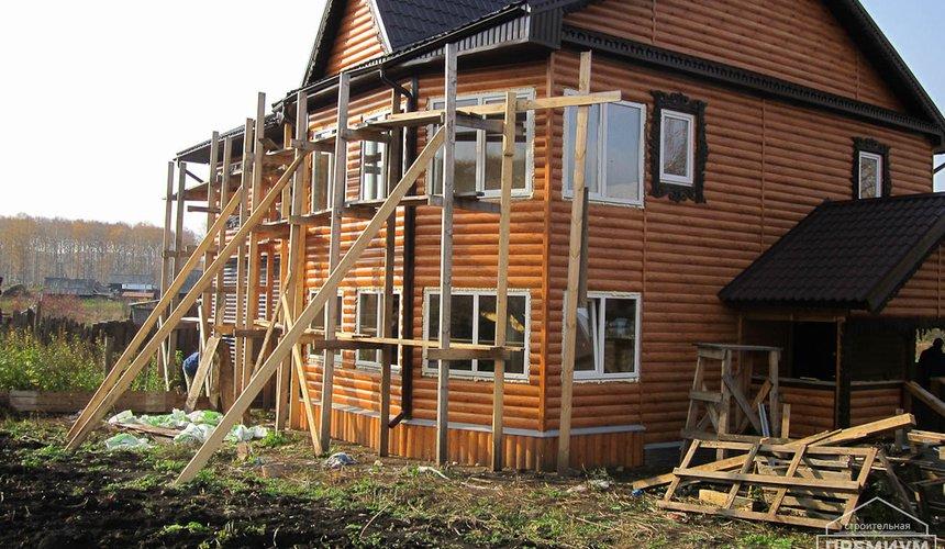 Проектирование и строительство дома из бруса в д. Рябиновка 47