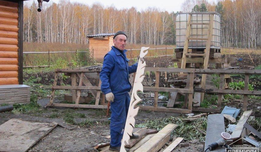 Проектирование и строительство дома из бруса в д. Рябиновка 48