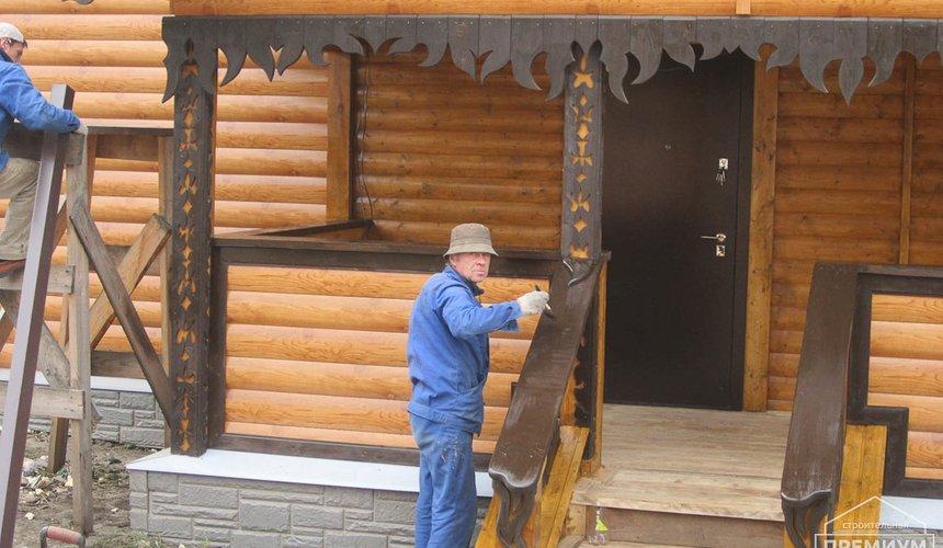 Проектирование и строительство дома из бруса в д. Рябиновка 50
