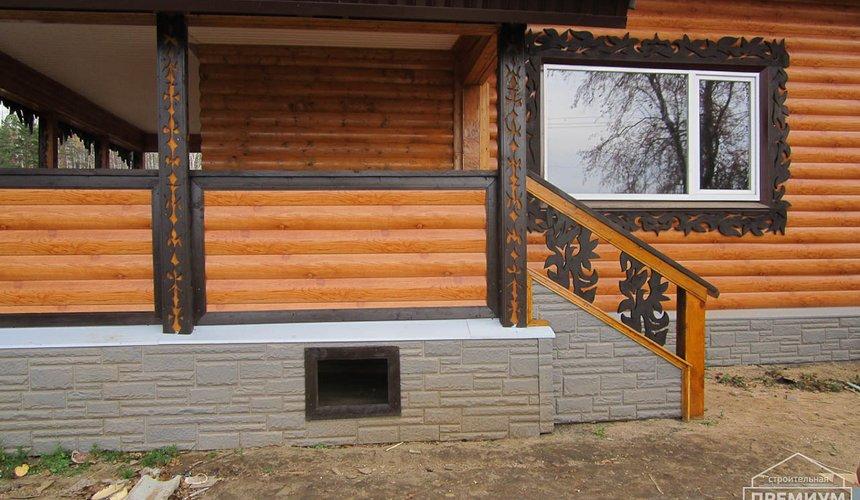Проектирование и строительство дома из бруса в д. Рябиновка 52