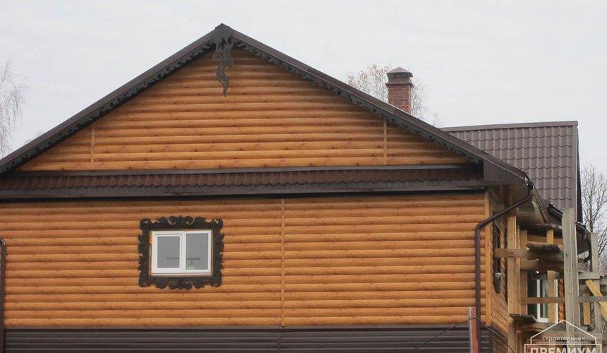 Проектирование и строительство дома из бруса в д. Рябиновка 54