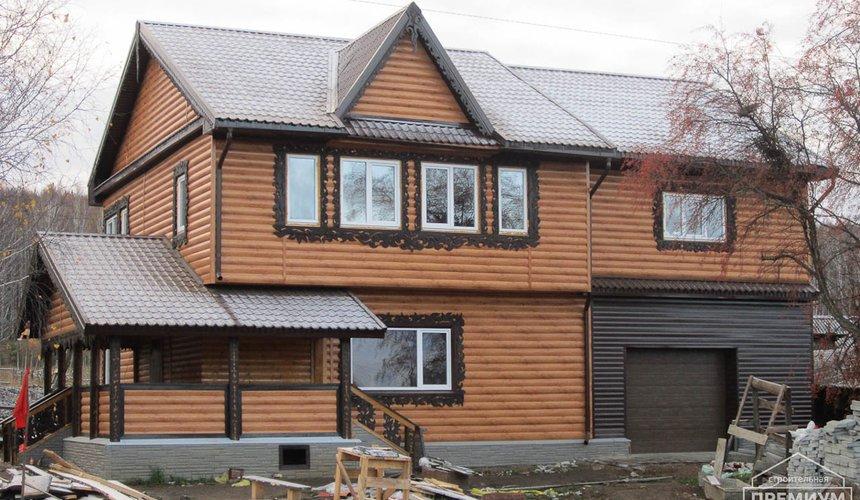 Проектирование и строительство дома из бруса в д. Рябиновка 57