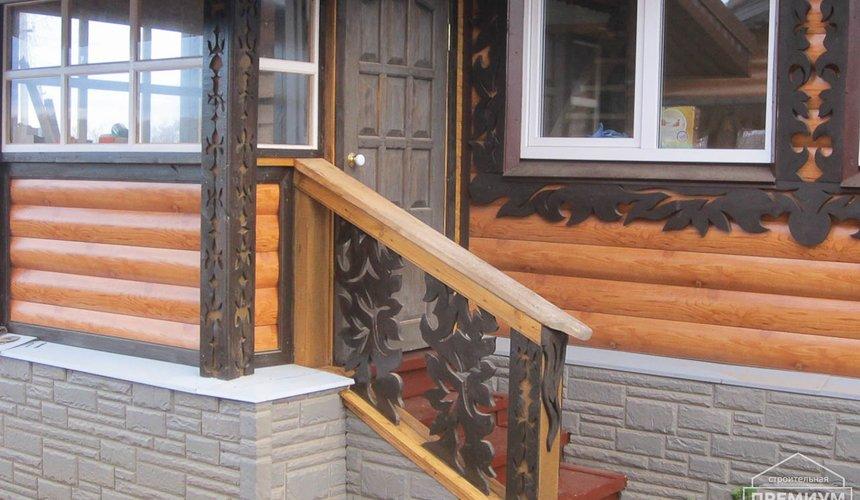 Проектирование и строительство дома из бруса в д. Рябиновка 58