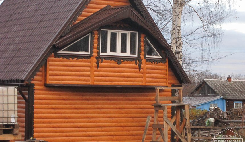 Проектирование и строительство дома из бруса в д. Рябиновка 60