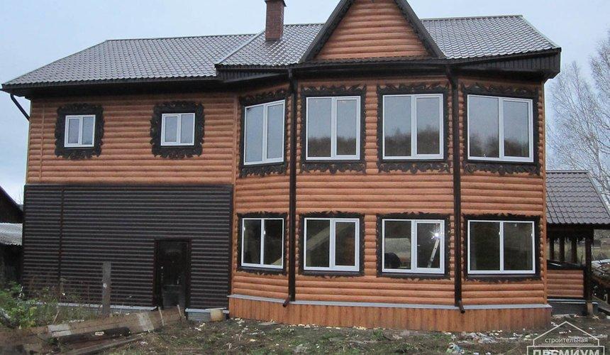 Проектирование и строительство дома из бруса в д. Рябиновка 61