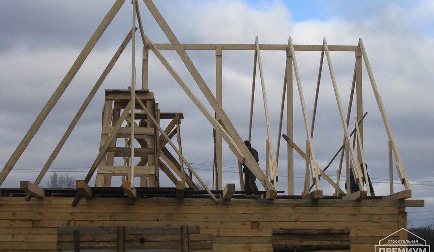 Строительство дома из бруса в д. Рябиновка 2 5