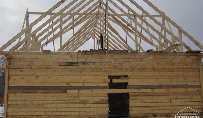 Строительство дома из бруса в д. Рябиновка 2 8