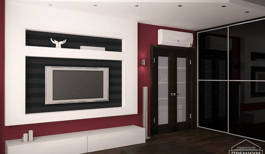 Дизайн интерьера однокомнатной квартиры по ул. Сыромолотова 11 7