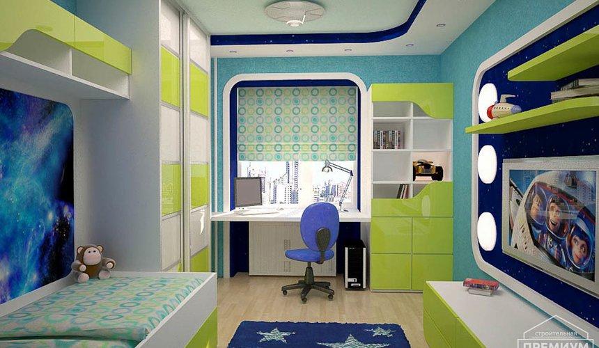 Интерьер детской комнаты для мальчика Глобус 3