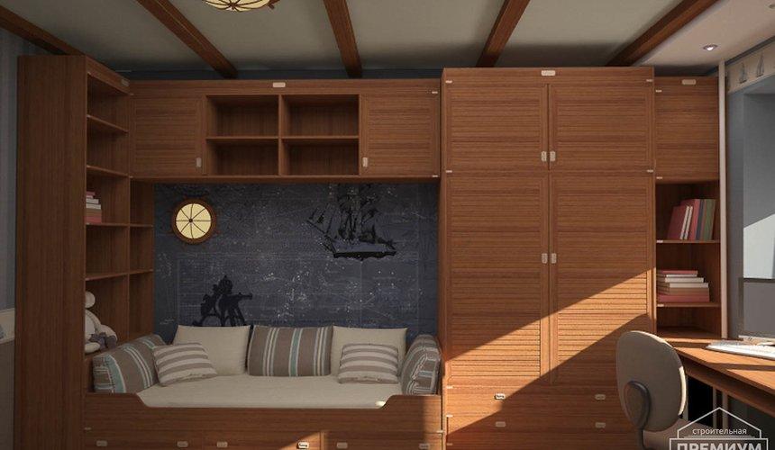 Интерьер детской комнаты для мальчика Глобус 9