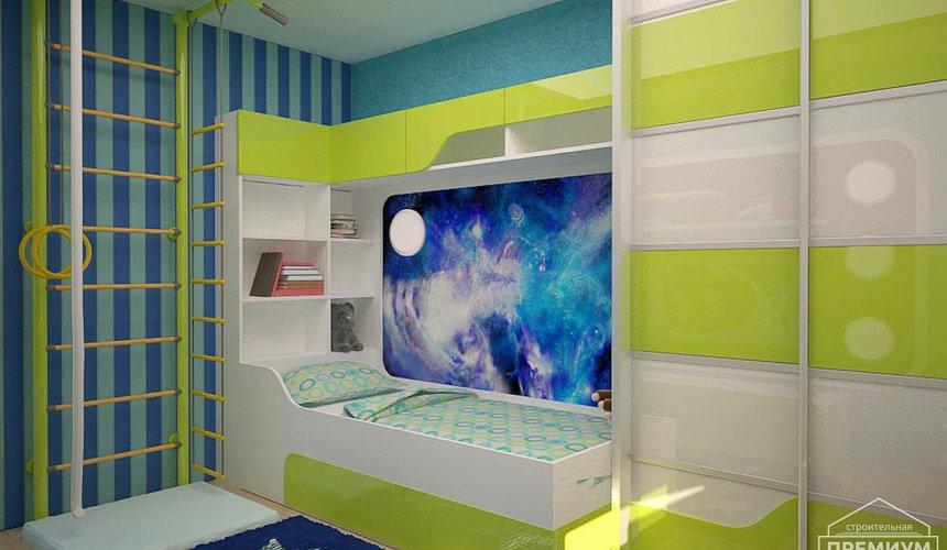 Интерьер детской комнаты для мальчика Глобус 4